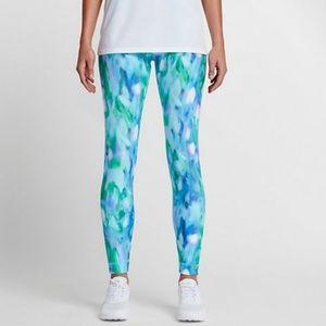 Nike | Glacier Blue Athletic Leggings